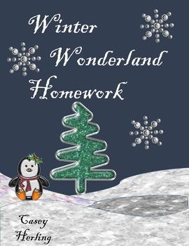 Winter Wonderland Homework