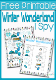 I Spy Counting: Winter