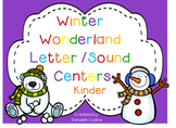 Winter Wonderland JUMBO Pack- K-1 Math & ELA (49 CCSS Centers)