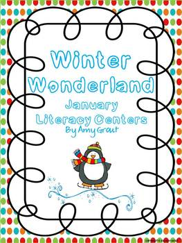 Winter Wonderland: January Literacy Centers