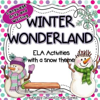 Winter Language Arts Activities