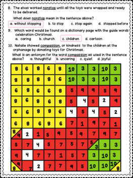 Winter Wonderland Language Arts Packet/Worksheets