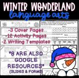 Winter Wonderland Language Arts Packet/Worksheets