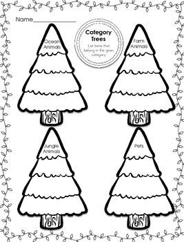 Winter Wonderland Language Printable Activities