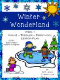 Winter Wonderland Lesson Plan - Week 1