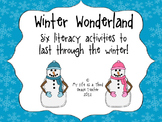 Winter Wonderland Literacy Activities