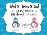 Winter Wonderland Literacy Activities