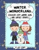 Winter Wonderland Math and Literacy Centers