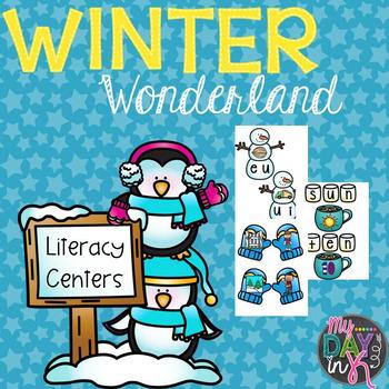 Winter Wonderland: Literacy Centers