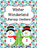 Winter Wonderland Literacy Centers (7 Centers!)