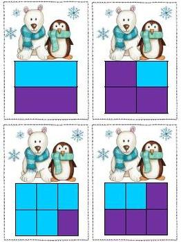 Winter Wonderland Literacy and Math Pack