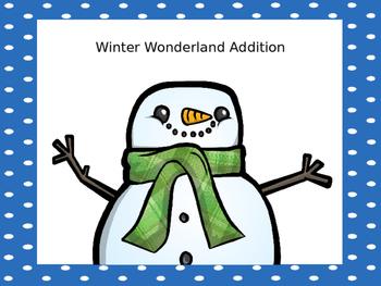 Winter Wonderland Math
