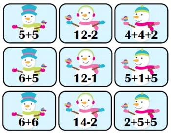 Winter Wonderland {Math Center Activities-1OA}