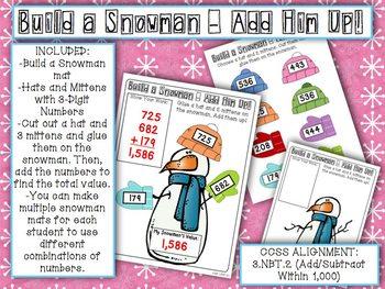 Winter Wonderland Math Centers