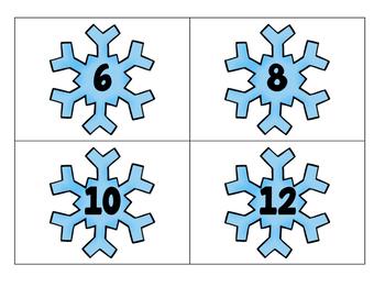 Winter Wonderland Math Centers-Pearson enVision First Grade Math Topic 5