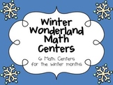 Winter Wonderland Math Centers for the Winter Months