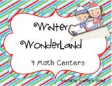 Winter Wonderland Math Centers (mClass Math Practice!)
