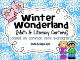 Winter Wonderland {Math & Literacy Centers} Aligned to the Common Core
