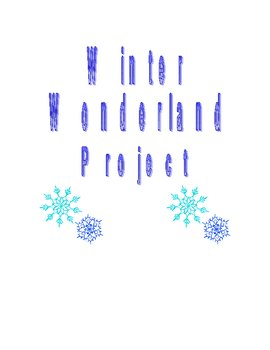 Winter Wonderland Math Project (Scale Drawings/Proportions)