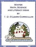 Winter Wonderland Math, Science and Literacy Ideas