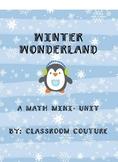 Winter Wonderland Math Unit