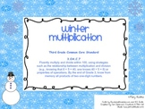 Winter Wonderland Multiplication