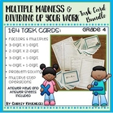 Multiplication and Division Word Problem Task Card Bundle