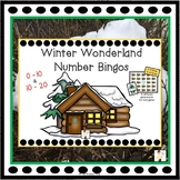 Winter Wonderland Number Bingos  0-10 & 10-20