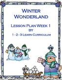 Winter Wonderland Preschool Bundle Set