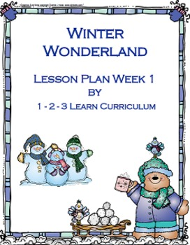 Winter Wonderland Preschool Bundle Set