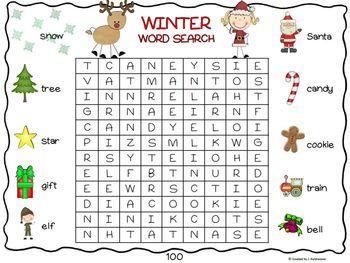 Winter Wonderland (Winter & Christmas Theme Printables)