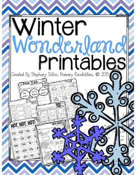 Winter Wonderland Printables { Freebie }