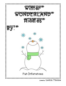 Winter Wonderland Riddles