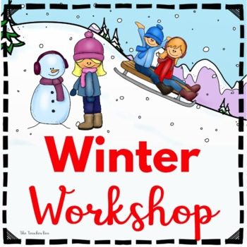 Kindergarten - Special Education-Winter Wonderland-Science,Math, & Literacy