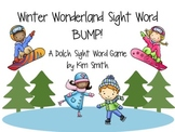 Winter Wonderland Sight Word Bump! A Dolch Sight Word Game