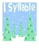 Winter Wonderland Syllable Sort