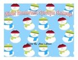 Winter Wonderland Synonym Shakeup!