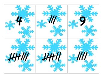 Winter Wonderland Tally Marks