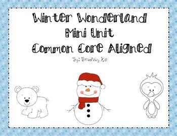 Winter Wonderland Thematic Unit