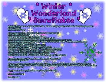 Winter Wonderland * Ultimate Snowflake Packet