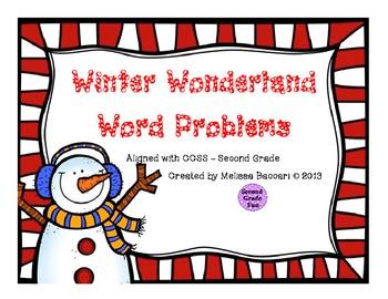 Winter Wonderland Word Problems