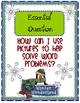 Winter Wonderland Word Problems Tiered Math Tub
