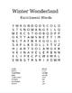 Winter Wonderland Word Search