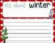 Winter Wonderland Writing