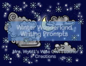 Winter Wonderland Writing Prompts
