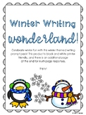 Winter Wonderland Writing Prompts