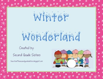 Winter Wonderland--Writing, Reading, Science, Math Megapack