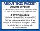 Winter Wonderland Writing Task Cards Common Core-Opinion,