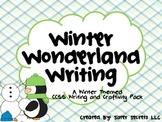 Winter Writing: Winter-Themed CCSS Writing & Craftivity Pack