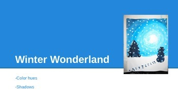 Winter Wonderland art project